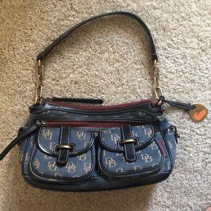 Dooney & Bourke denim purse